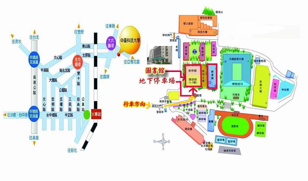 华中科技规划手绘作品